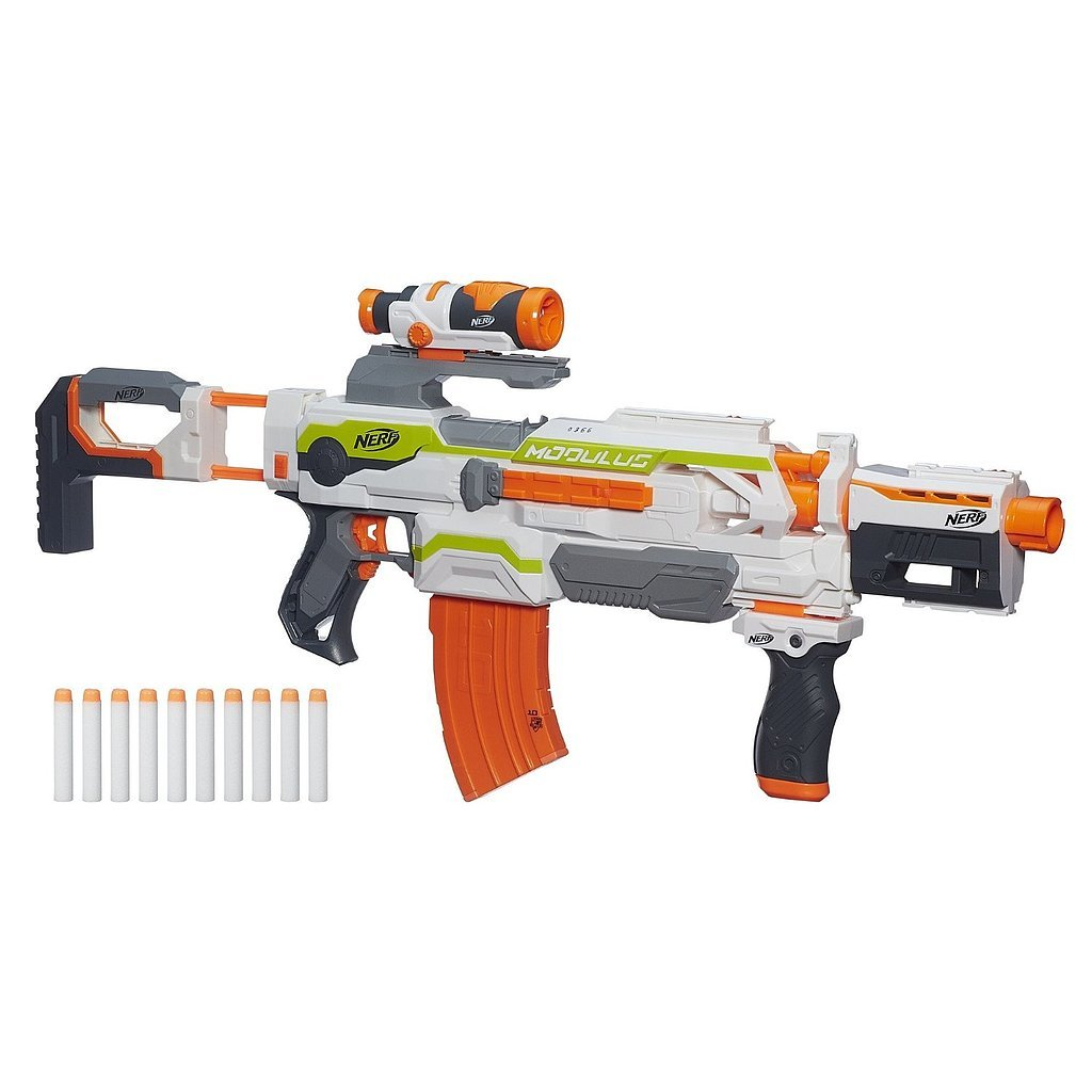 For 8-Year-Olds: Nerf N-Strike Modulus ECS-10 Blaster