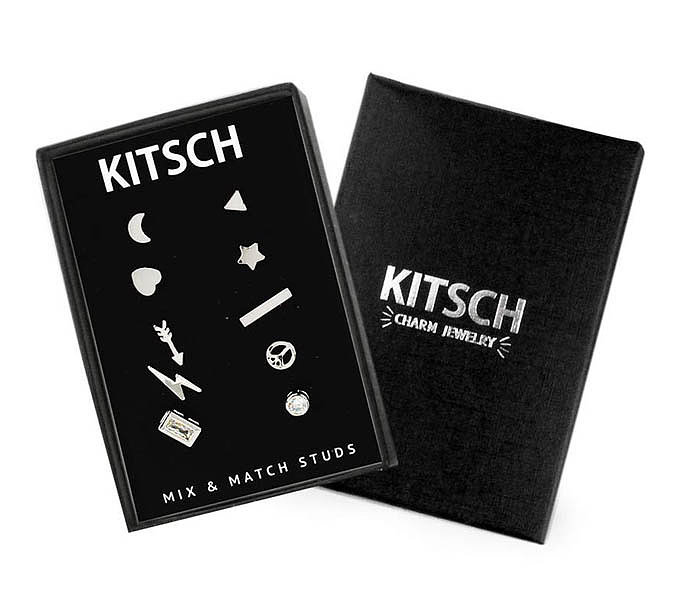 For 9-Year-Olds: Kitsch 10 Piece Mix and Match Studs
