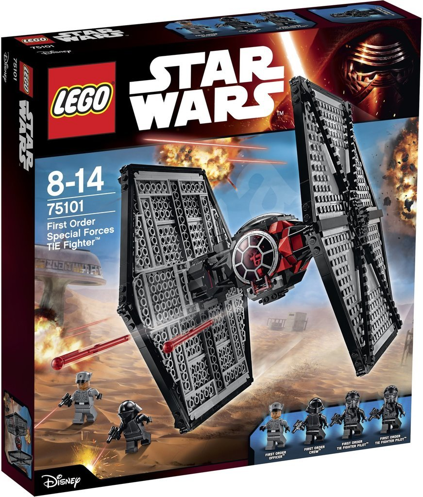 For 9-Year-Olds: Lego Star Wars Tie Fighter Building Kit