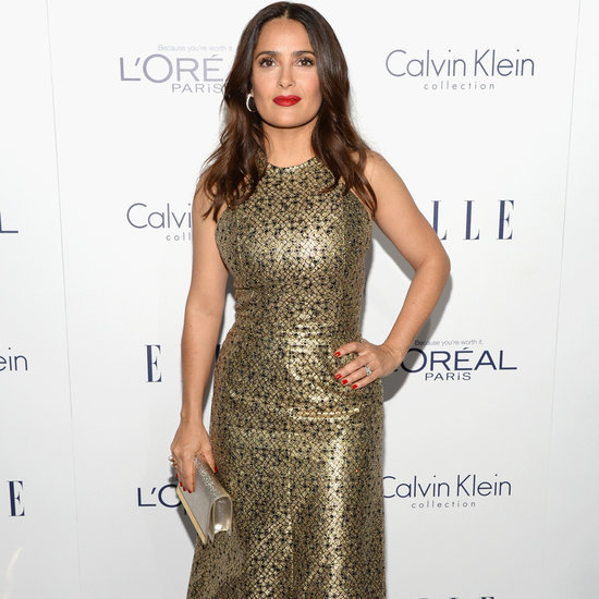 Salma Hayek's Gymnastics Throwback Photo