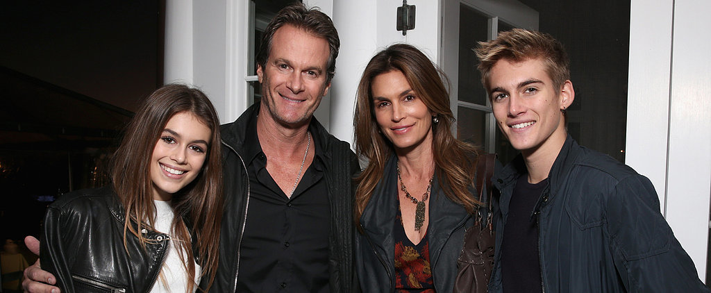 Cindy Crawford and Her Famous Brood Link Up For a Children's Charity Event in LA