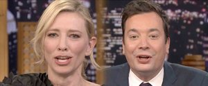 "Cate Blanchett Teams Up With Jimmy Fallon For a Hilarious Duet of ""Reunited"""