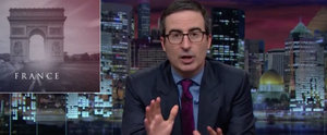 John Oliver Nails What We're All Thinking About the Paris Attackers