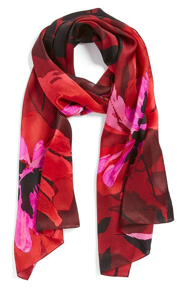Vince Camuto Silk Scarf
