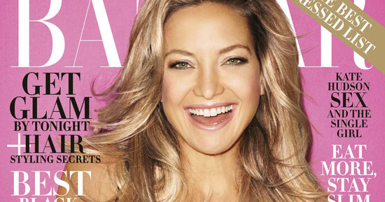 Kate Hudson Stuns On Harper's Bazaar December Cover