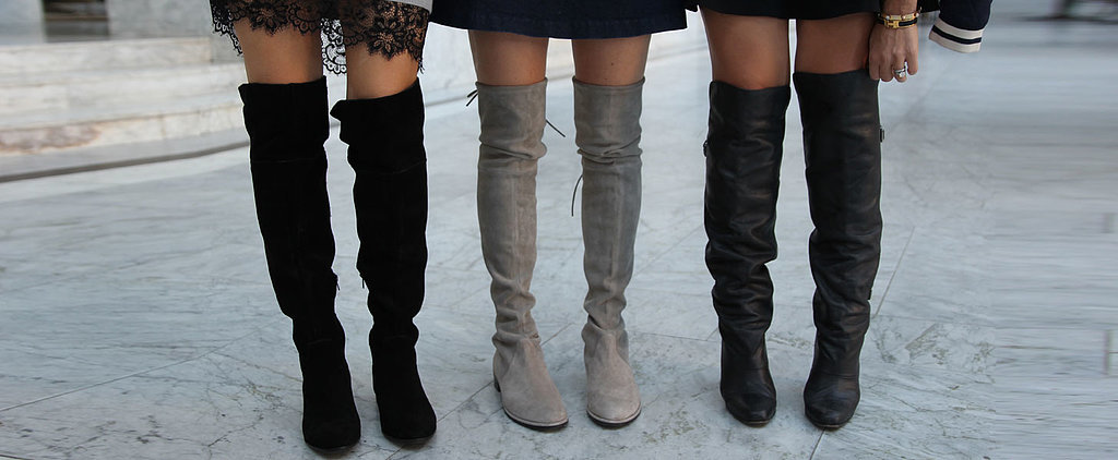 These 5 Women Just Made Over-the-Knee Boots Totally Wearable IRL
