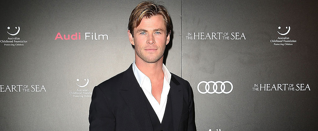 Chris Hemsworth Hits the Red Carpet in Sydney, and Our Hearts Basically Stop