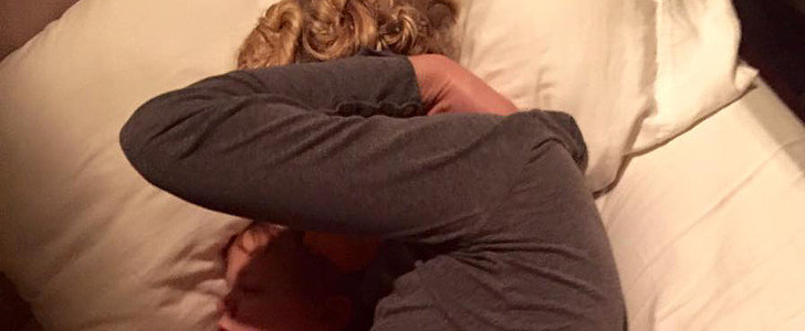 Why This Photo of a Trauma Nurse Napping With Her Son Has 750,000 Likes on Facebook