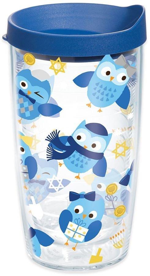 Hanukkah Owls Tumbler