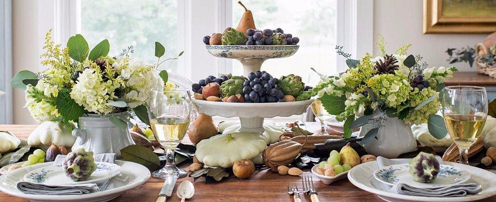 DIY Harvest-Inspired Thanksgiving Table