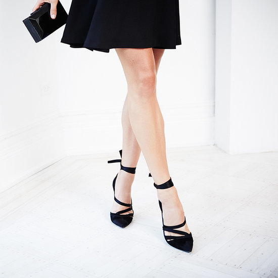 How to Style Black Heels