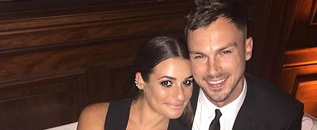Lea Michele and Matthew Paetz Are Gleefully in Love