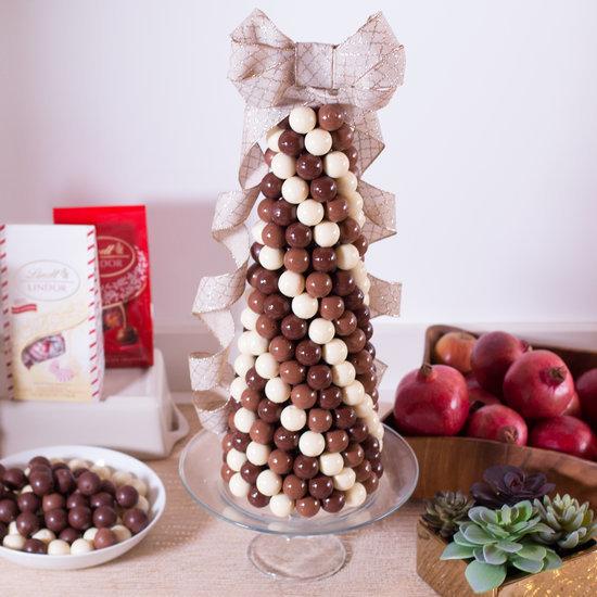 Chocolate Tower Truffle Cake Recipe