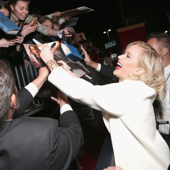 Jennifer Lawrence Funny Red Carpet Moments | Video