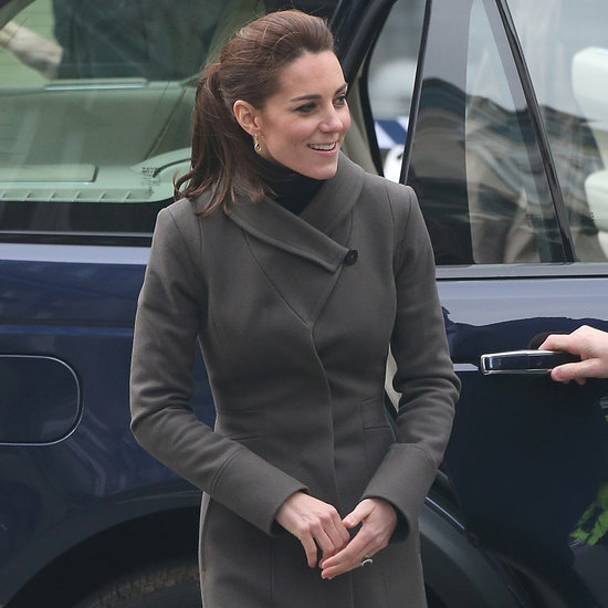 The Duchess of Cambridge in Reiss Angel Coat November 2015