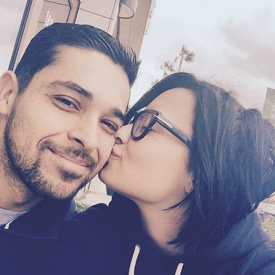 Demi Lovato Wilmer Valderrama Kiss Instagram November 2015