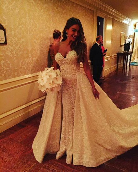 Sofia Vergara and Joe Manganiello Wedding Instagrams