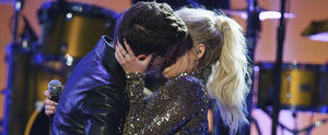 You Need to See Meghan Trainor and Charlie Puth's Shocking AMA Makeout Session