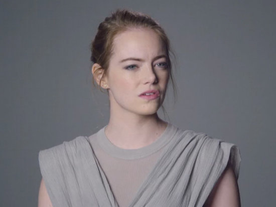 Emma Stone Jokes About Controversial Aloha Character in Star Wars Audition on SNL