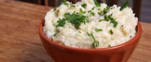Up Protein and Lower Carbs by Cooking This Healthy Recipe For Mashed Potatoes