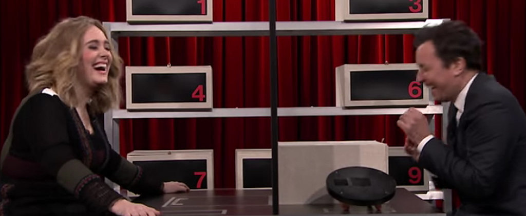 "You'll Never Guess What Adele Calls Jimmy Fallon During Their Game of ""Box of Lies"""