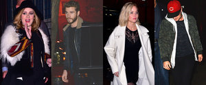 Adele, Jennifer Lawrence, Liam Hemsworth, and Josh Hutcherson Meet Up For a Casual Dinner in NYC