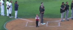 This Little Boy Hiccuping Through a Performance of the National Anthem Is Too Hilarious