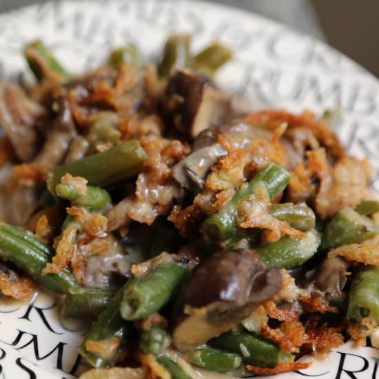 Slow-Cooker Green Bean Casserole Recipe