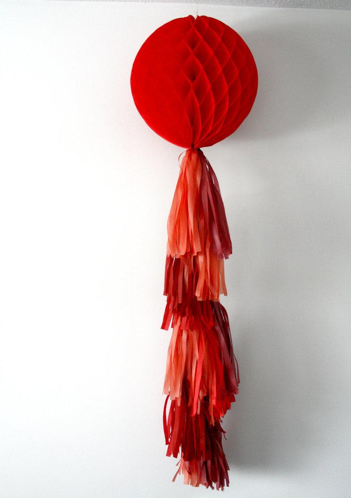 Large Honeycomb Tassel Ornament