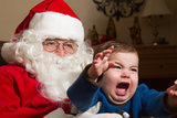 You Can't Help but Laugh at These 15 Kids Who Are Absolutely Terrified of Santa Claus