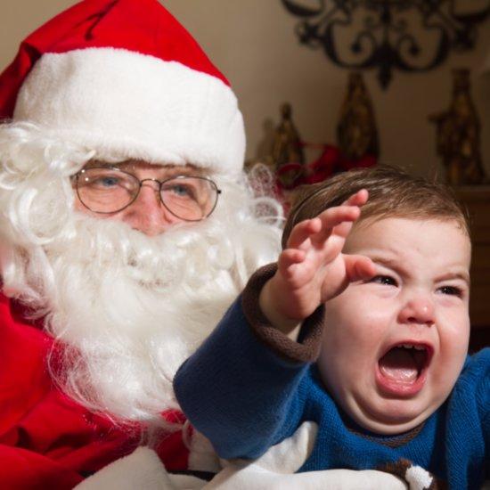 Kids Scared of Santa
