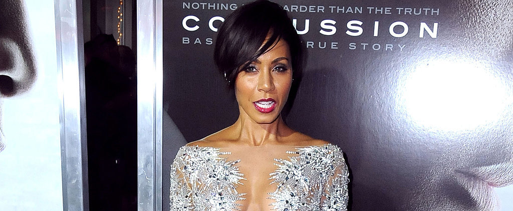 Jada Pinkett Smith Is a Fan of This Sexy Red Carpet Trend