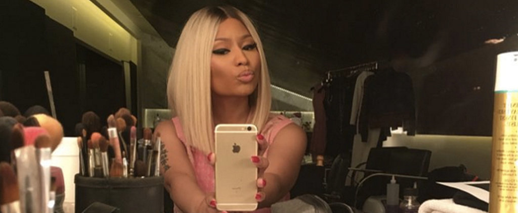 YAS! Nicki Minaj Is a Blond Goddess Again