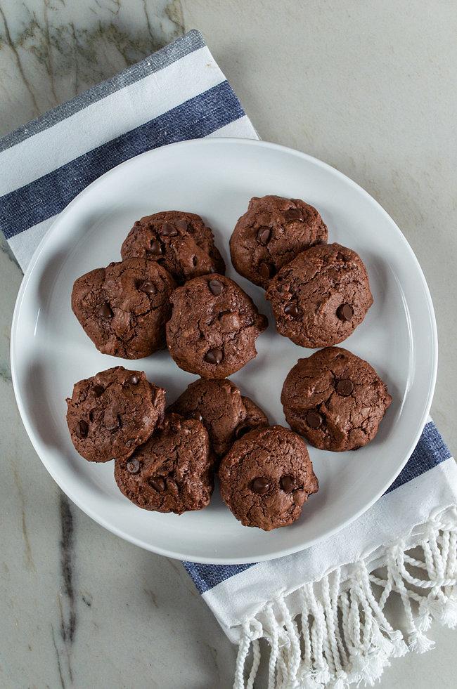 Chocolate Olive Oil Cookies