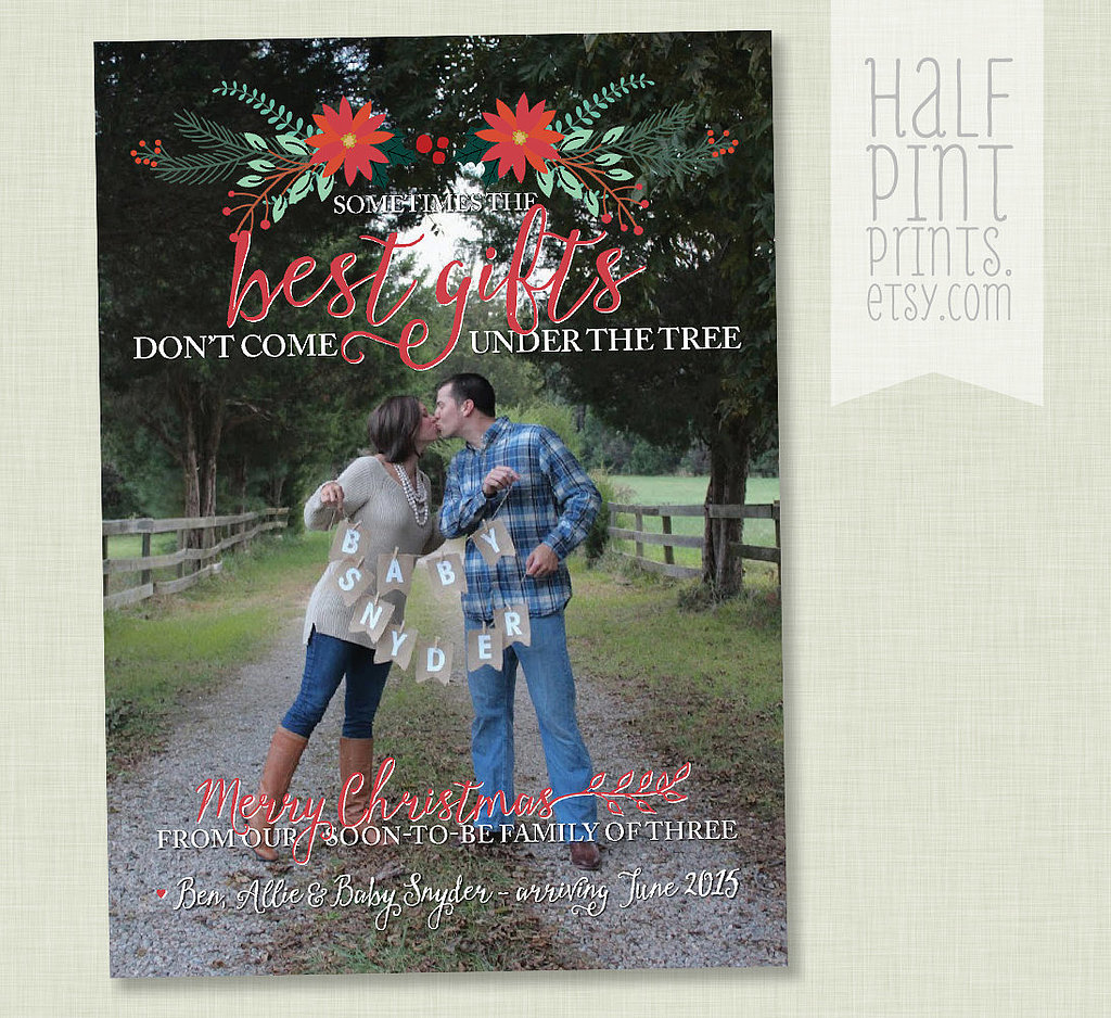 Holiday Pregnancy Announcement Ideas Weve Never Seen Before – Gifts for Baby Announcement