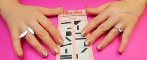 Meet Your New Obsession: Miss Pop's Negative-Space Temporary Nail Tattoos