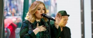 Adele Can't Stop, Won't Stop Performing Live and Knocking Out Anyone Within Earshot