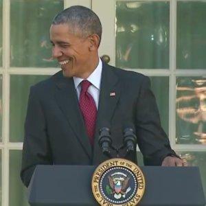 President Obama 2015 Turkey Pardon (Video)