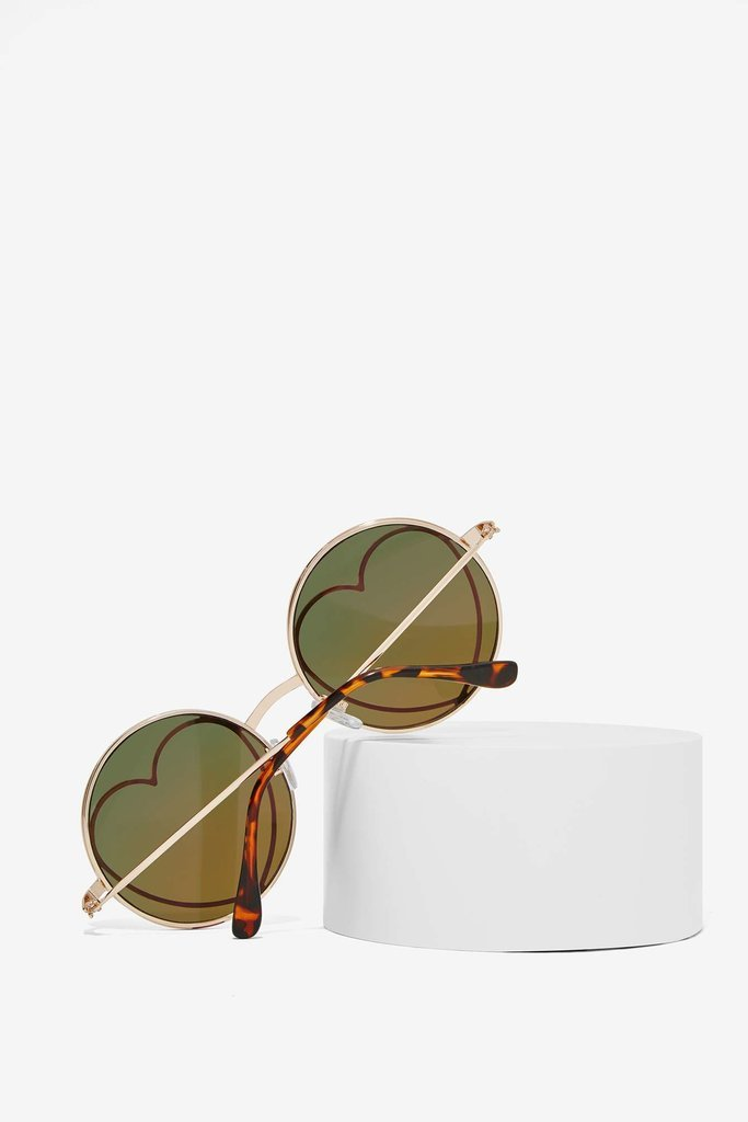 Round Colored Sunglasses