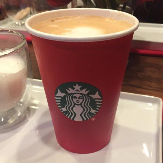 Starbucks Holiday Spice Flat White
