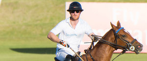Prince Harry's Polo Match Looks Like It's Straight Out of a Magazine