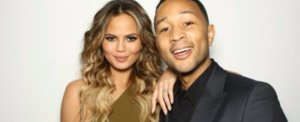 Chrissy Teigen Celebrated Her 30th Birthday in a Sexy, Sleek Party Gown