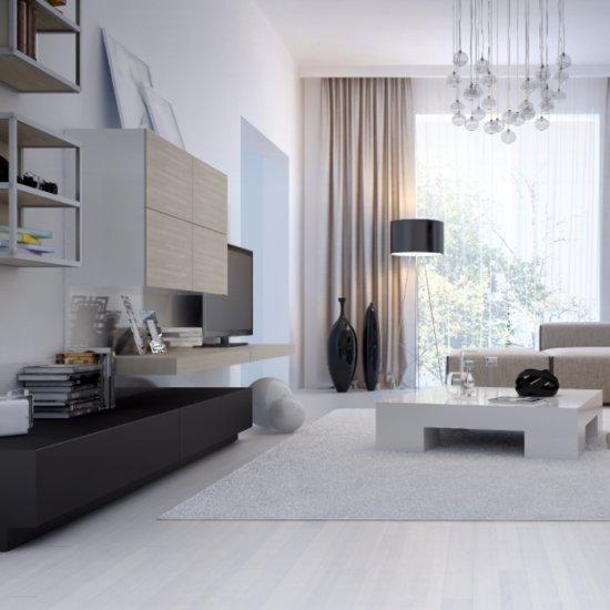 10 Sleek Modern Living Rooms