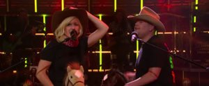 "Ellie Goulding and James Corden Perform a Hilarious Version of ""Love Me Like You Do"""