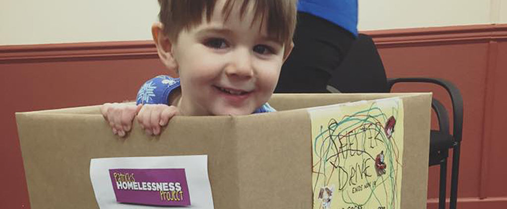 Adorable Toddler's Clothing Drive For the Homeless Will Make You Want to Give Back