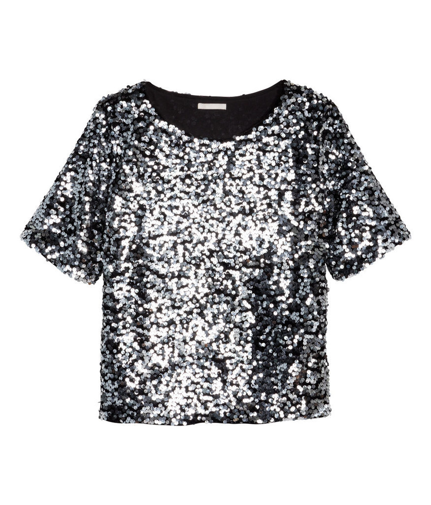 H&M Sequin Top ($35)
