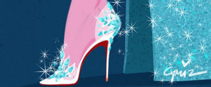 Your Inner Disney Girl Is About to Freak Out Over These Shoe Sketches