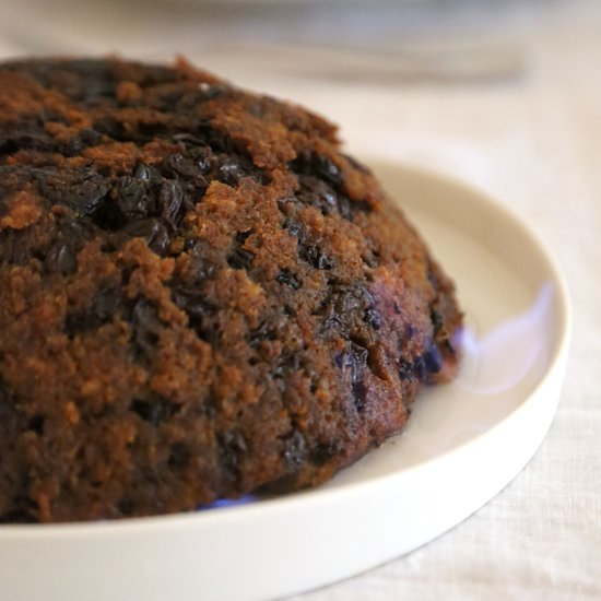 Harry Potter's Flaming Christmas Pudding