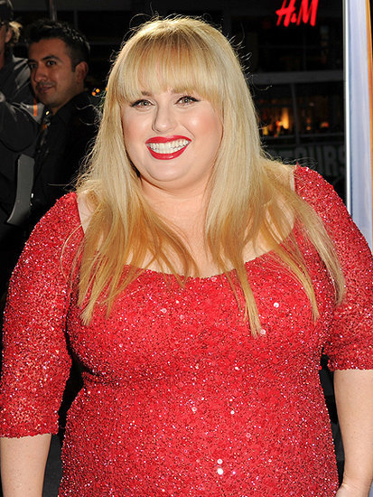 "Rebel Wilson Shares Pics of Her ""Absolutely Fabulous"" Time on the Set of Upcoming Movie"