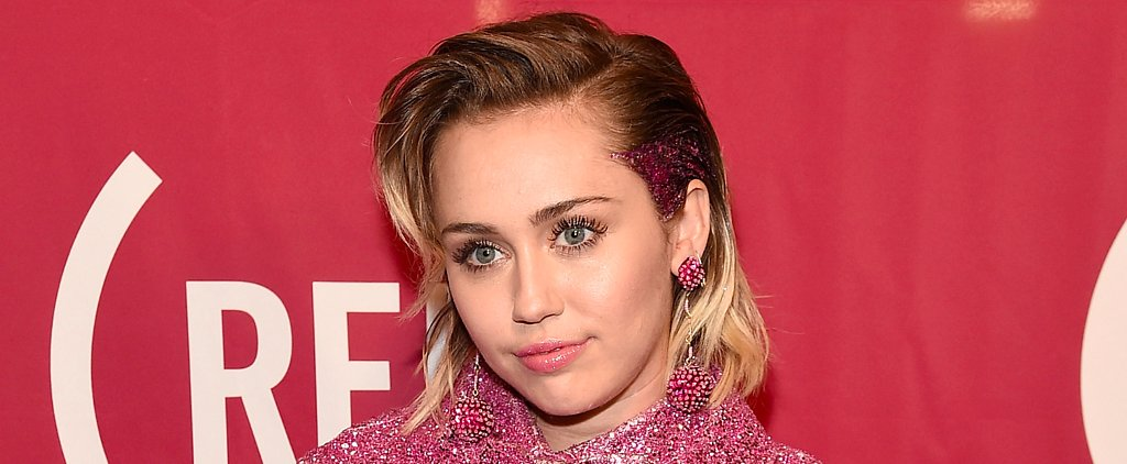 Miley Cyrus Will Inspire You to Finally Embrace the Glitter Roots Trend